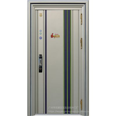 不锈钢韩式门 不锈钢防盗门入户门 广州不锈钢门厂家