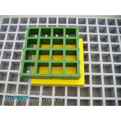 江津玻璃钢格栅地沟排水盖板 发电厂透气排味污水池盖板