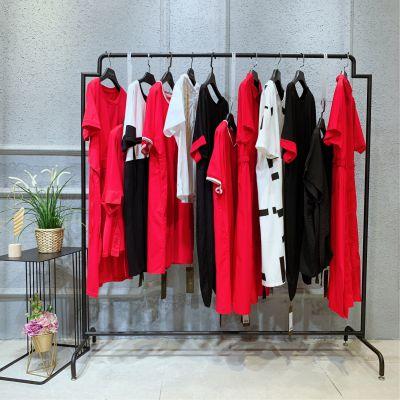 杭州女装品牌折扣米梵服装尾货批发市场休闲大衣羽绒服专柜品牌女装
