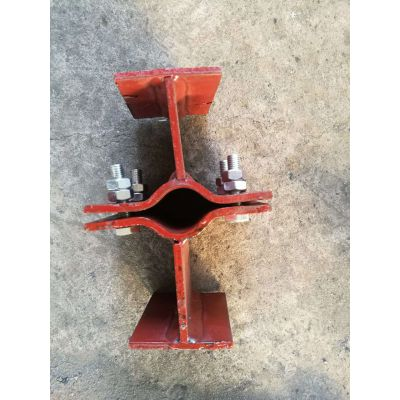 鑫佰横担弹簧用管夹支座,型号齐全,也可代图制作。