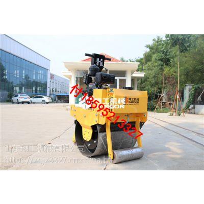 山东翔工压路机路面压实机械优质手扶单轮压路机生产厂家