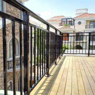 肇庆大厦楼梯扶手护栏高度 小区阳台栏杆热镀锌栅栏