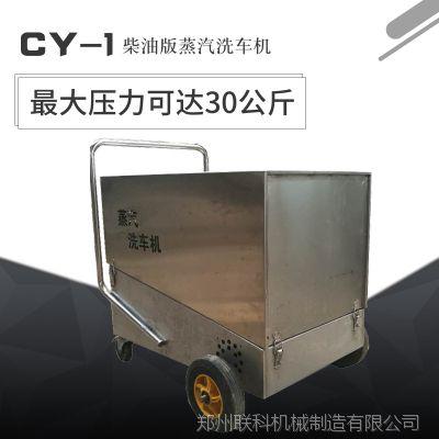 小型洗车行柴油版高压蒸汽洗车设备 可移动自动蒸汽洗车机 大功率