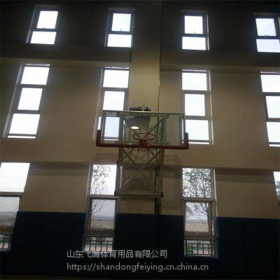山东厂家直销壁挂升降篮球架 壁挂升降篮球架安装 壁挂升降篮球架