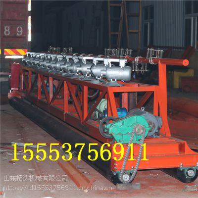 广西南宁供应三滚轴摊铺机 路面提浆整平机