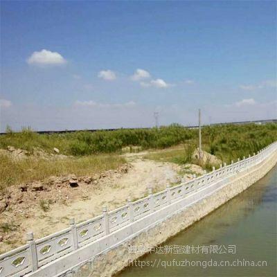 【菏泽厂家直销】精品 景观仿石护栏 混凝土仿木栏杆 桥梁水泥护栏