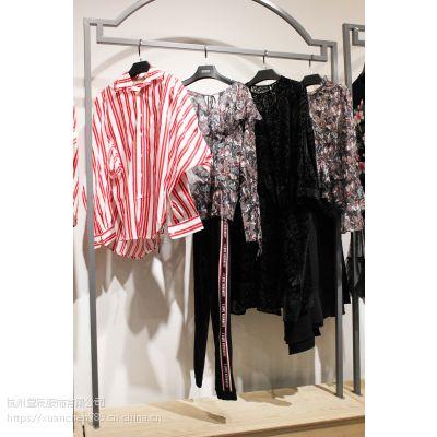 杭州四季青服装市场品牌折扣女装 实体店货源奢华大牌 走份批发