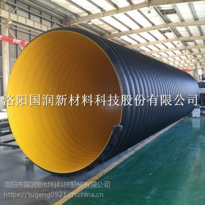 大型市政工程钢带波纹管 排污排水波纹管道