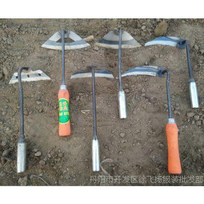 花锄草锄木柄全钢小种菜园林除草农具农用翻地松土器园艺工具锄头