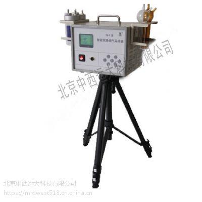 中西智能双路烟气采样器 型号:QL2-YQ-2 库号:M321464