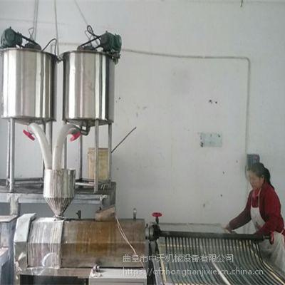 新型粉丝机 芭蕉芋粉条机江西 蒸汽加热中天
