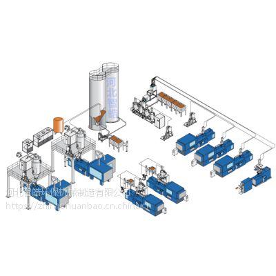 滨州厂家专业量身定做PVC粉料中央供料系统