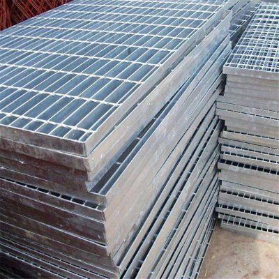 排水沟盖板 工业平台钢格板 雨水篦厂家