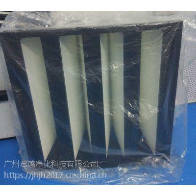 佛山君鸿净化设备厂为您提供W型高效空气过滤器 塑胶框大风量过滤器