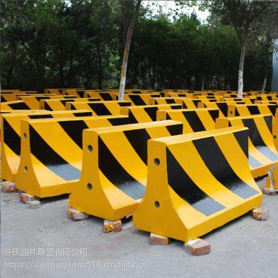 保定水泥隔离墩防撞分流专用墩