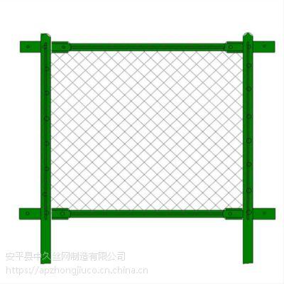 组装球场围网 链式足球场围网 焊接式围网 框架勾花网围网