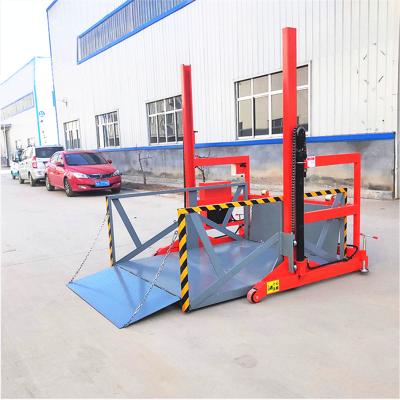 小型液压装卸台 电动升降机 移动式装车升降机厂家直销