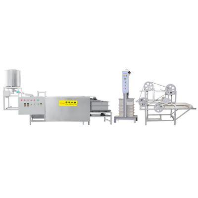 全自动豆腐皮机厂家 大型豆腐皮机的价格 操作简便环保卫生