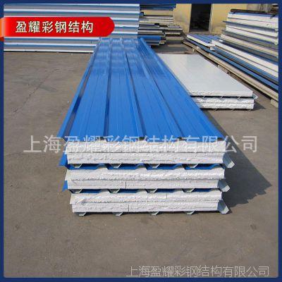 厂家出售 优质泡沫彩钢夹芯板泡沫夹芯板隔墙板