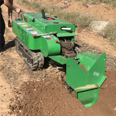 橘子园开沟施肥一体机 履带自走式开沟施肥机生产厂家