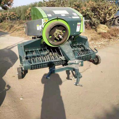 大型方捆打捆机 玉米秸秆收割粉碎打捆机 青储饲料打包机