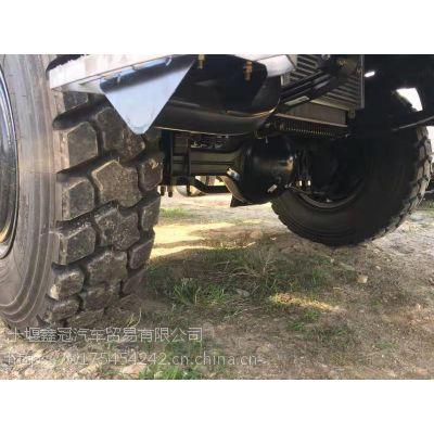国五东风牌EQ2090TMSL 4X4平头越野卡车