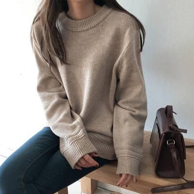 摆地摊哪里的毛衣货源批发呢 秋冬季特价女士针织毛衣尾货批发 五元以下针织衫批发