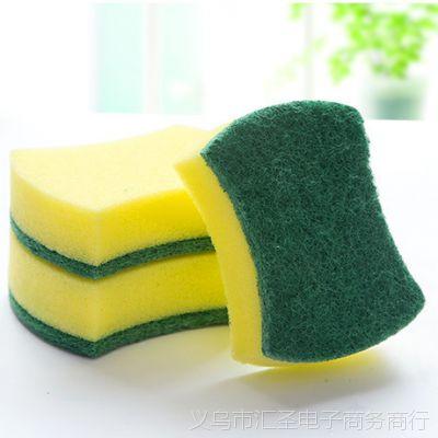 魔力擦百洁刷不沾油洗碗巾海绵刷厨房清洁用品魔力海绵擦神器洗碗