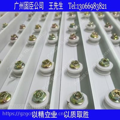 固臣1.0mm隐形防护网轨道隐形防盗网轨道材料