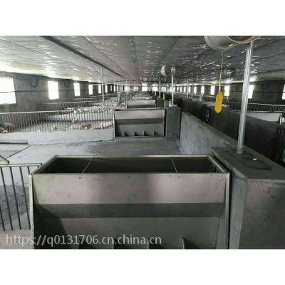 宜宾保育不锈钢料槽、保育双面不锈钢料槽