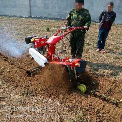 大马力柴油开沟机 大葱种植开沟培土机 慧聪机械狭小空间使用的田园管理机