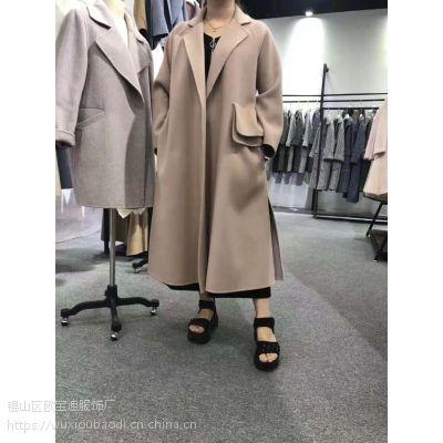 全新供应女装呢子大衣全部新款出售一手厂家