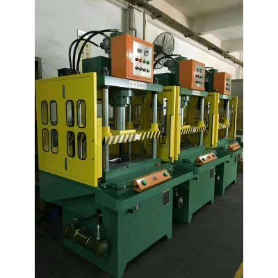 金拓匠心制造KTQL-30TS吨四柱快速油压机 铝合金水口料切切机