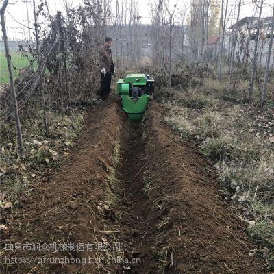 能开深度40厘米履带开沟机 价格便宜好用旋耕机 农具五大履带耕整机