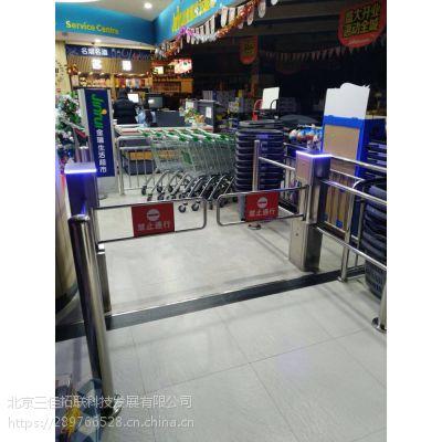 超市入口器摆闸 超市进出口智能门