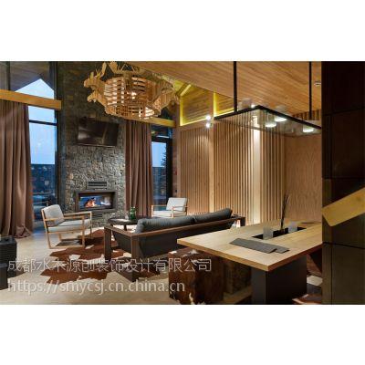 成都度假酒店设计「水木源创」青城山温泉度假酒店设计方案