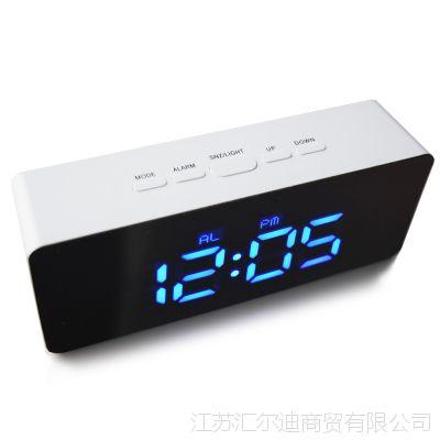 传光LED智能夜光数字静音学生闹钟床头儿童简约时尚创意电子时钟