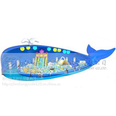 鲸鱼岛乐园投资郑州卧龙价格海洋球乐园厂家定制