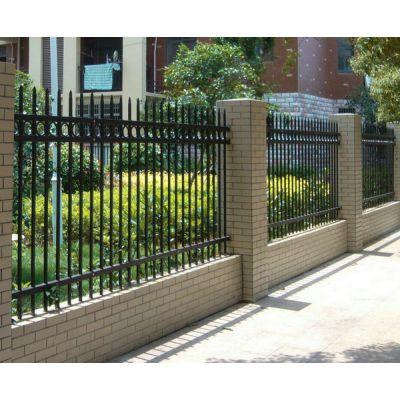 锌钢护栏-三横梁-围墙护栏