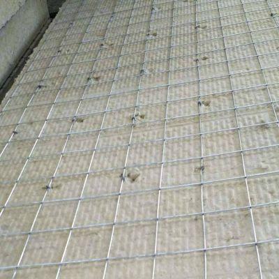 钢网插丝岩棉板160公斤白银市岩棉板价格合理