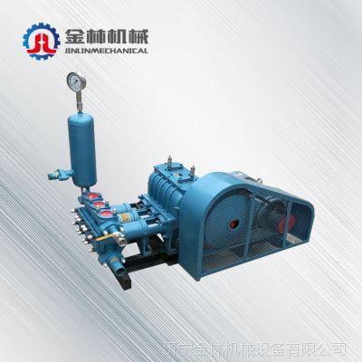山东省济宁年底大促销电动BW250泥浆经销批发打桩灌浆机