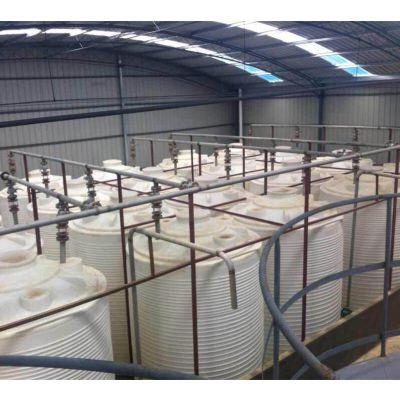 厂家直供洗衣液搅拌罐塑料水箱10000L化工级高强度高韧性搅拌罐PE桶