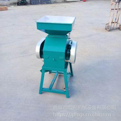 黄豆挤片机 大型打扁机 燕麦挤扁机