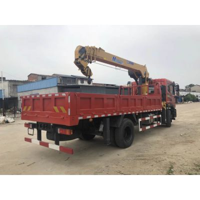 柳州8吨随车吊哪里有卖的 东风单桥8吨随车吊图片