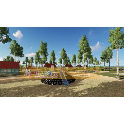 城市儿童公园整体规划定制 公园儿童游乐设备成都厂家设计直销
