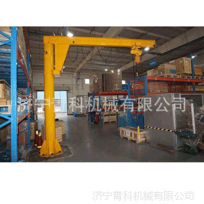 定柱式旋臂起重机 仓库定点小吊车 工厂吊臂货物搬运工具