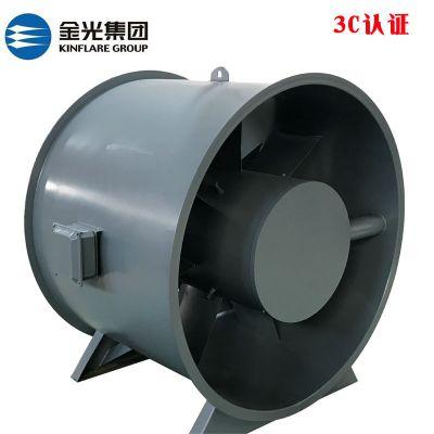 直销HL3-2A-3.5混流式高温排烟风机 山东金光混流排烟风机
