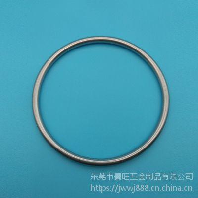 东莞景旺金属无缝焊接圆环 源头厂家定做拉力强环保耐用