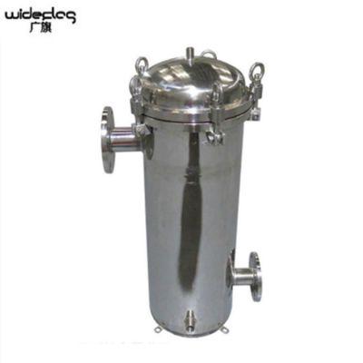 现货特价 青海省食品液体拦截杂质过滤器 牛奶饮料除渣袋式过滤器 脉德净