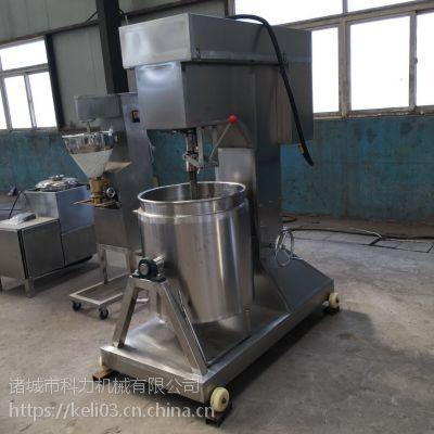 鱼肉贡丸制浆机 牛羊肉打浆机器多少钱一台